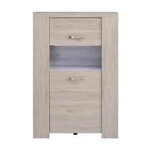 Skříňka v dekoru dubového dřeva Parisot Bailleu