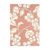 Vlněný koberec Devore Pink 160x230 cm