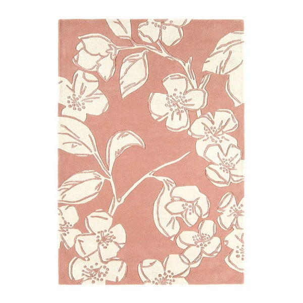 Vlněný koberec Devore Pink 120x170 cm