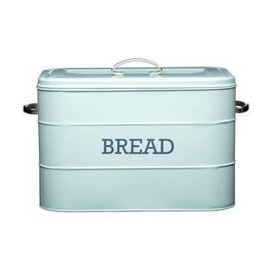 Modrá plechová dóza na chléb Kitchen Craft Bread