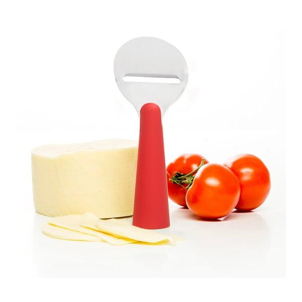Červený plátkovač sýrů Sagaform