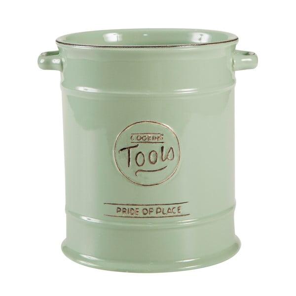 Zielony pojemnik ceramiczny na przybory kuchenne T&G Woodware Pride Of Place
