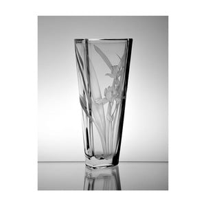 Váza Kosatec, trojhran, 30,5 cm