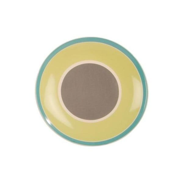 Keramický talíř Night Soul Green, 27 cm
