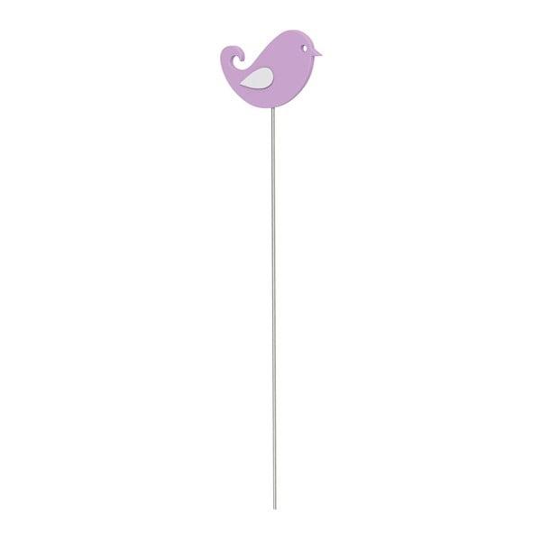 Dekorativní tyčka Bird Light Violet