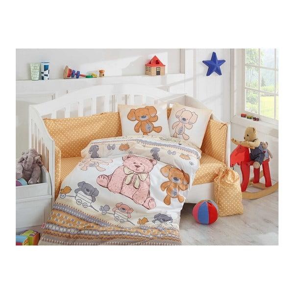 Lenjerie de pat cu cearșaf Tombik, 100 x 150 cm