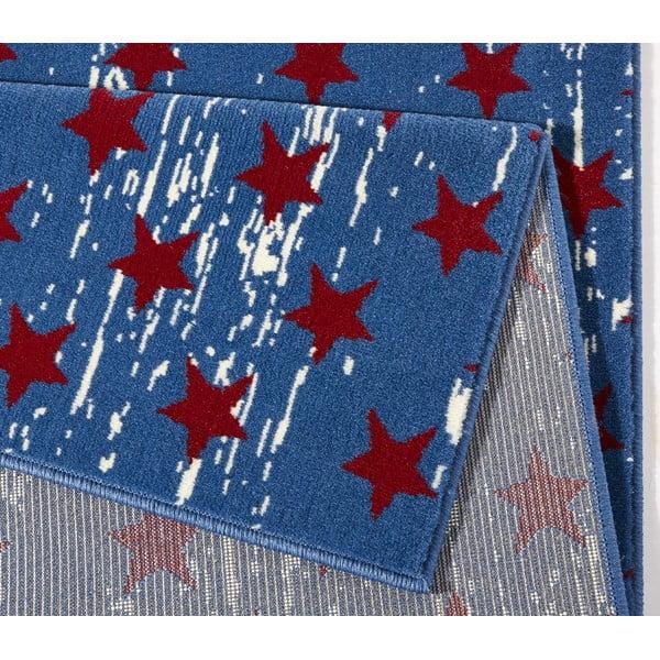 Koberec Hanse Home City & Mix Modrá vlajka, 140x200cm