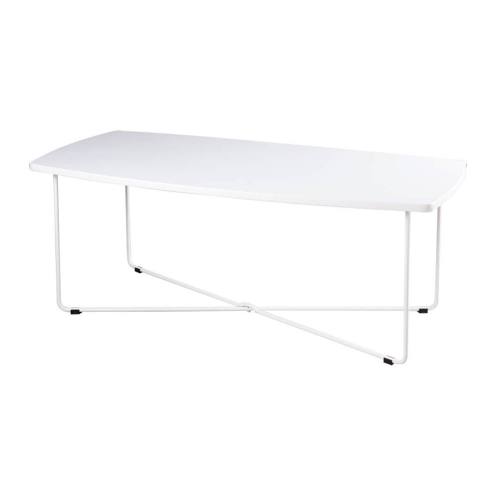 Bílý konferenční stolek sømcasa Justin