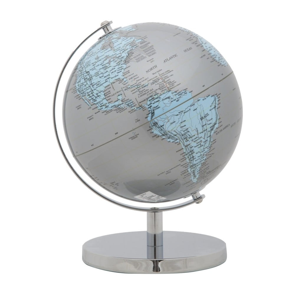 Stříbrný dekorativní globus Mauro Ferretti
