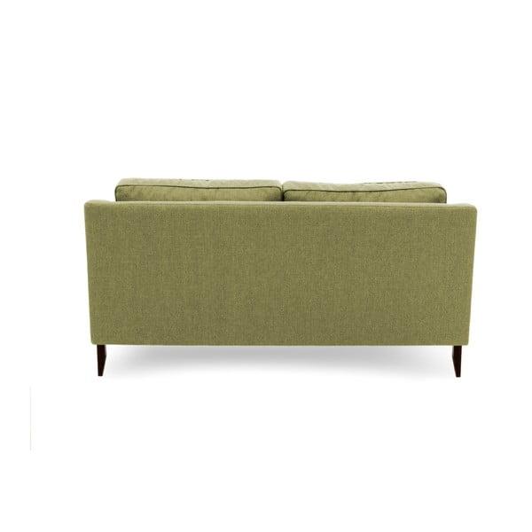 Canapea cu 3 locuri Vivonita Bond, verde