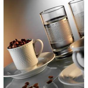 Sada hrníčků na kávu a sklenice Klasika, 12 ks