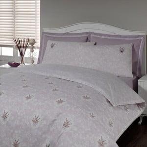 Sada povlečení a prostěradla In Love Lavender, 160x220 cm
