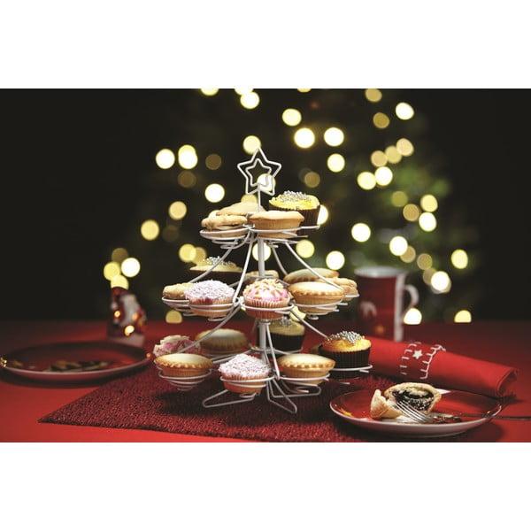 Stojan na cupcaky Christmas Tree