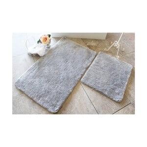 Sada 2 šedých koupelnových předložek Confetti Bathmats Colors of Grey