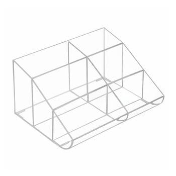 Organizator transparent cu 6 compartimente InterDesign de la iDesign