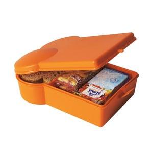 Svačinový box, oranžový