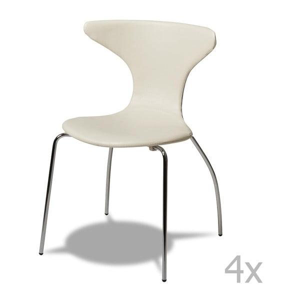 Suki fehér székkészlet, 4 részes - Furnhouse