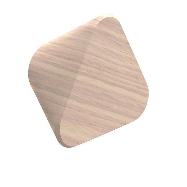 Háček z dubového dřeva na kabáty HARTÔ Leonie, Ø 10 cm