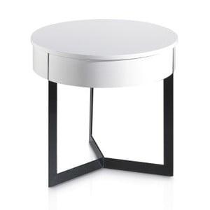 Bílý příruční stolek Ángel Cerdá Ibbie