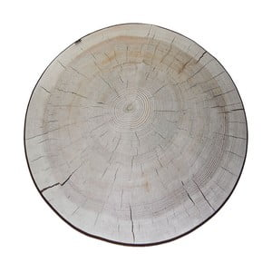 Koberec MeroWings Birch Tree Ring, Ø 138 cm