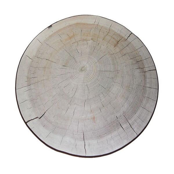 Koberec MeroWings Birch Tree Ring, Ø 138 cm