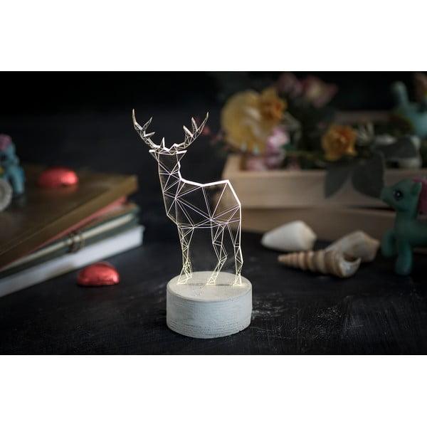 Náladové světlo Deer, 20 cm