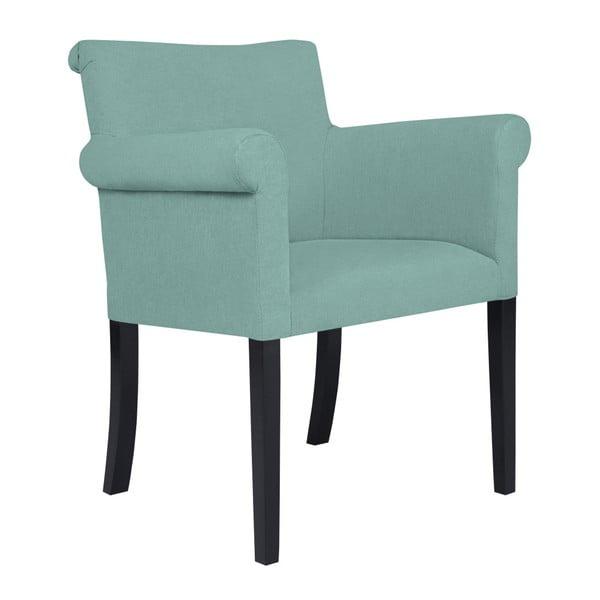 Mátově zelená židle Kooko Home Harp