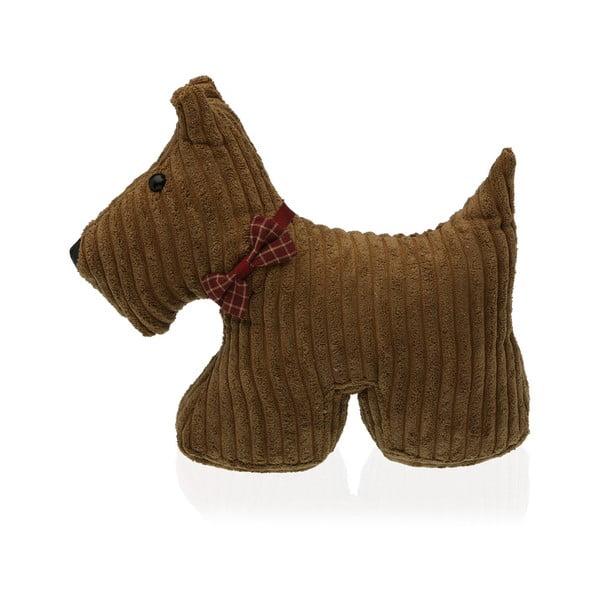 Dog kutya formájú barna ajtó kitámasztó - Versa