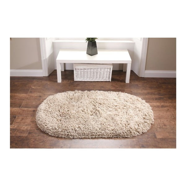Béžový koberec Think Rugs Rainbow Beige, 75x135cm