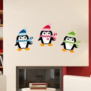 Set 3 autocolante Crăciun Fanastick Christmas Penguins