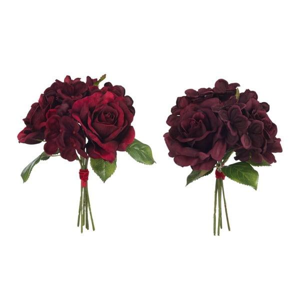 Sada dvou kusů umělých kytic
