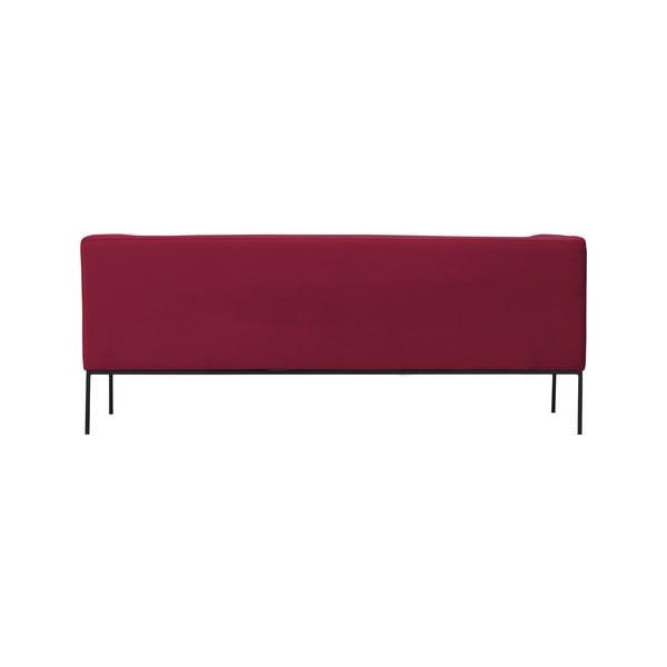 Červená trojmístná pohovka Windsor & Co Sofas Neptune