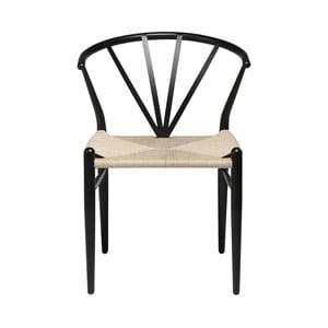 Černá židle DAN-FORM Denmark Delta