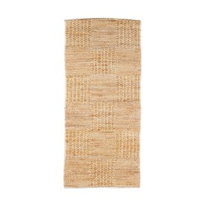 Přírodní koberec z juty De Eekhoorn Scenes, 140x70cm