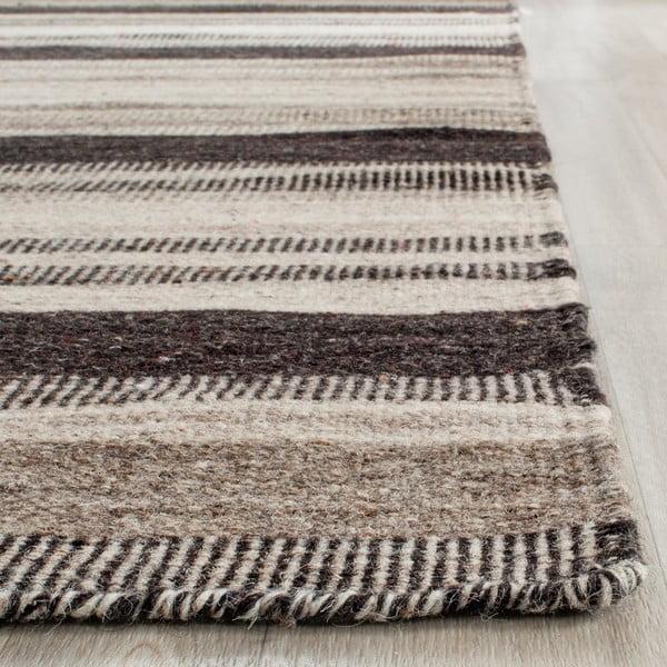 Vlněný koberec Safavieh  Nico, 152x243 cm, hnědý