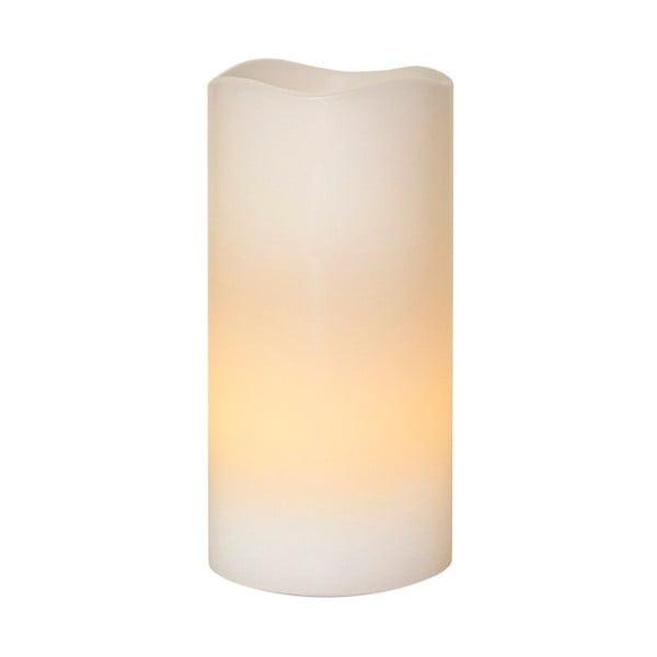 Vosková LED svíčka Best Season Ringa, 15 cm