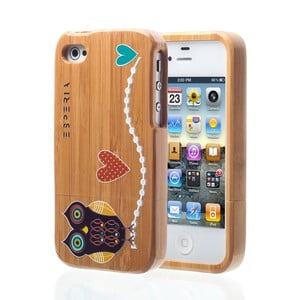 ESPERIA Little Owl Bamboo pro iPhone 4/4S