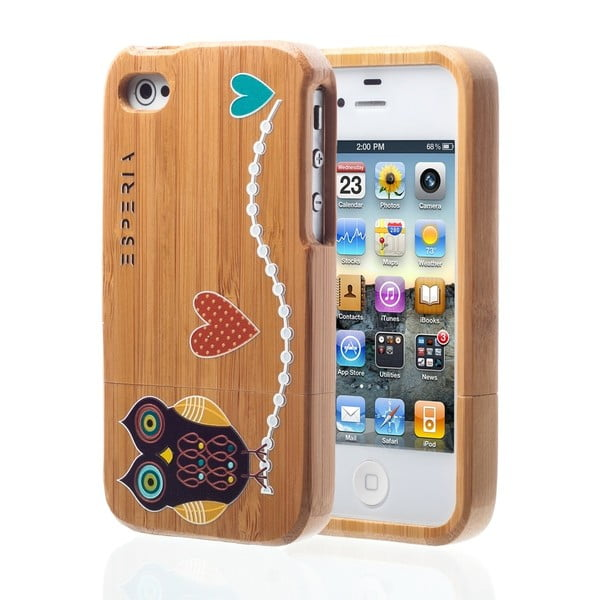 ESPERIA Little Owl Bamboo pro iPhone 4/4S