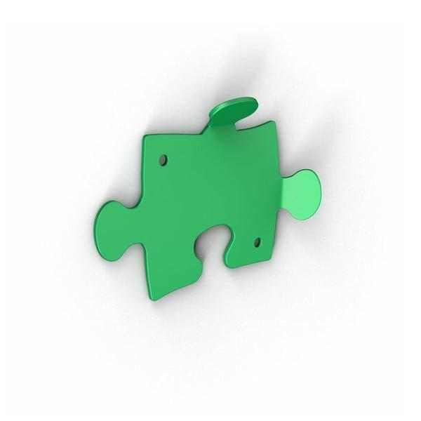 Zelené háčky Puzzle, 2 ks
