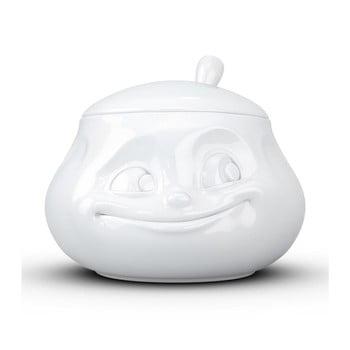 Zaharniță din porțelan, zâmbet 58products, alb imagine
