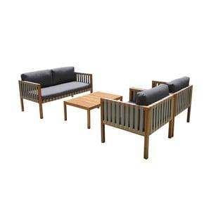 Sada zahradního nábytku z exotického dřeva Ezeis Galupe