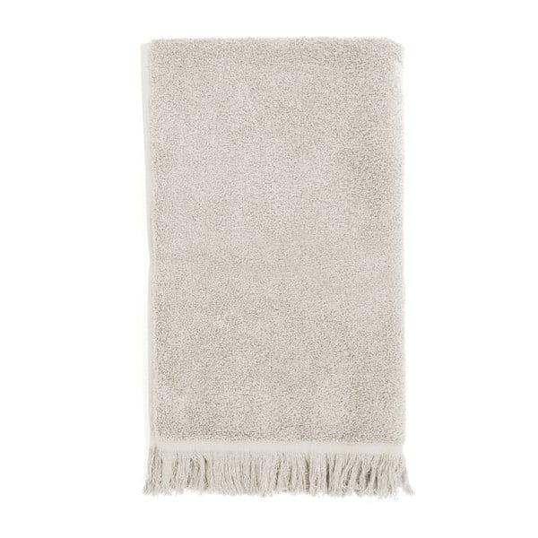 Sada 2 světle šedých bavlněných ručníků Casa Di Bassi, 50x90cm