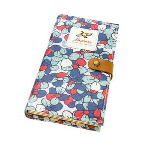 Zápisník Bird, modro-červený