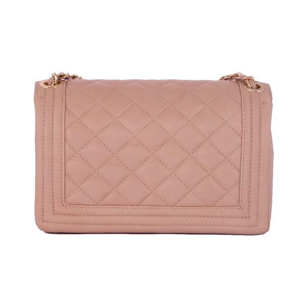 Kožená kabelka Andrea Cardone 2024 Pink