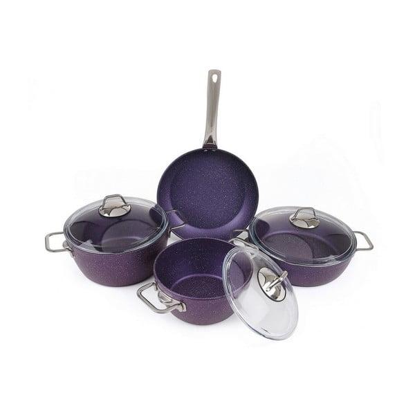 Fialový set kuchyňského nádobí Antonia