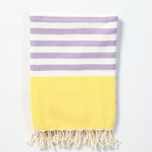 Hamam osuška z ručně tkané bavlny ZFK Herborn, 170x100cm