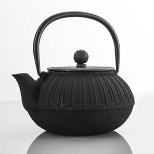 Litinová konvice Bona Black, 850 ml