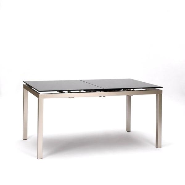 Rozkládací jídelní stůl s černou deskou Design Twist Cali