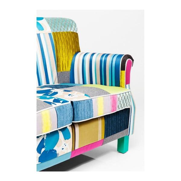 Dvojmístná pohovka Kare Design Patchwork Stripes