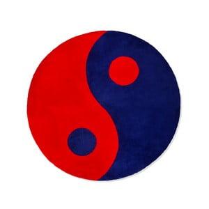 Dětský koberec Beybis Blue and Red Jing Jang, 150 cm